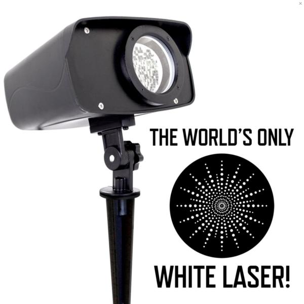 White-Moving-Laser